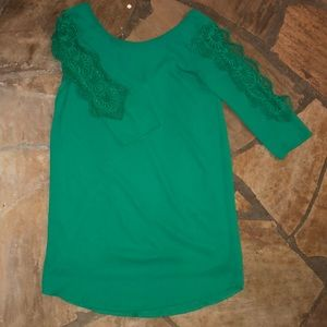Dresses & Skirts - The Irish are Calling Dress with Lace 3/4 Sleeve